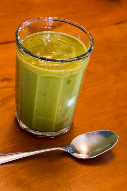 Green Velvet smoothie