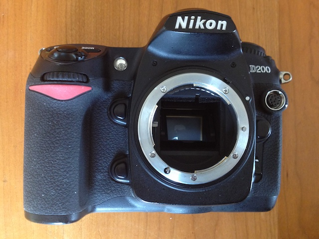 Got my Nikon D200 repaired!