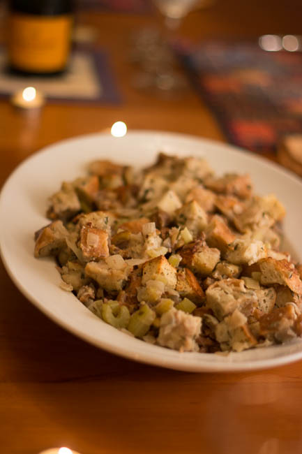 Rosemary Diamante Chestnut Stuffing