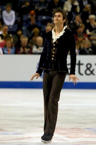 Ryan Bradley taking the ice 2010 Nationals