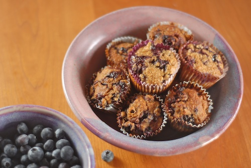 blueberry oatmeal muffins (1)