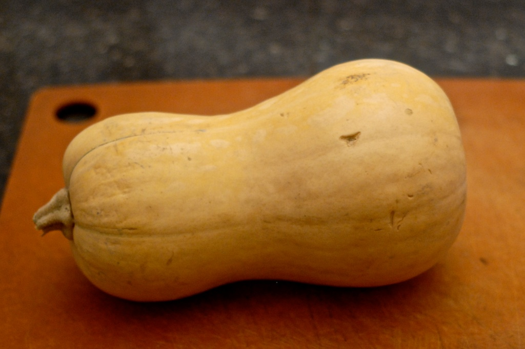 Cutting Butternut Squash Safely