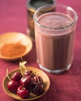 Cocoa Cherry Smoothie