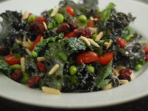 copy Trader Joe's Kale Edamame Bistro salad