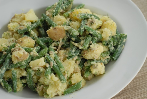 Dilled Green Bean and Potato Salad