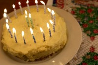 What I Made This Week: Eggnog Cake