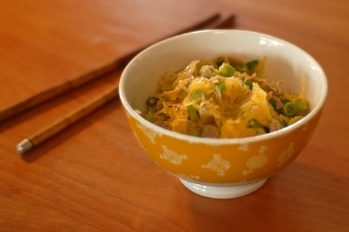 Hot Pepper Sesame Spaghetti Squash with Scallions and Artichoke Hearts
