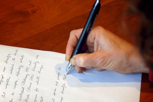 writing process goals