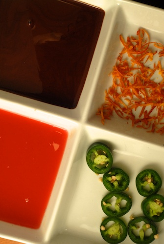 ingredients chocolate orange sorbet (1)