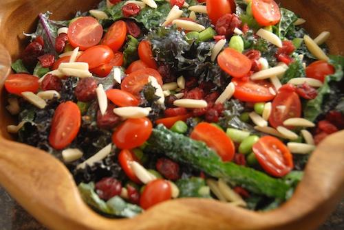 Kale Edamame Salad