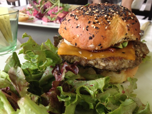 lentil-based veggie burger