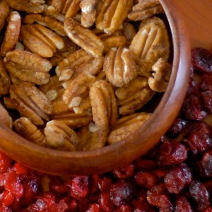 Maple Candied Pecans, the Stove-Top Method
