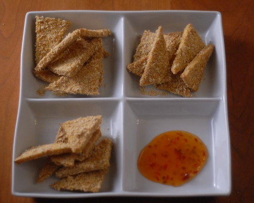 panko breaded tofu triangles (1)