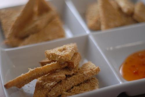 panko breaded tofu triangles (2)