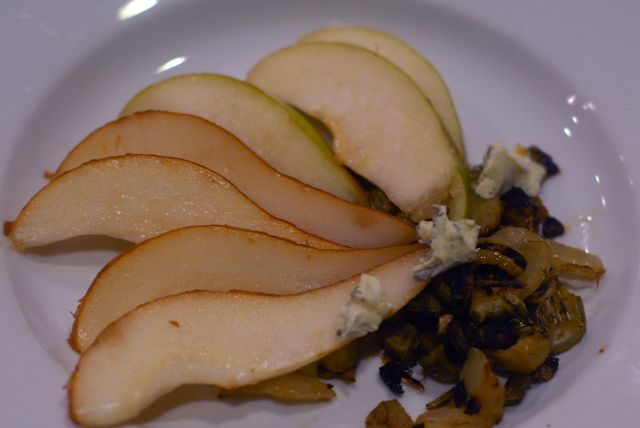 pear fennel blue cheese salad revised