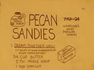 Wildflour's Pecan Sandies