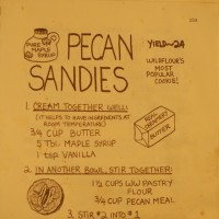 Wildflour's Pecan Sandies