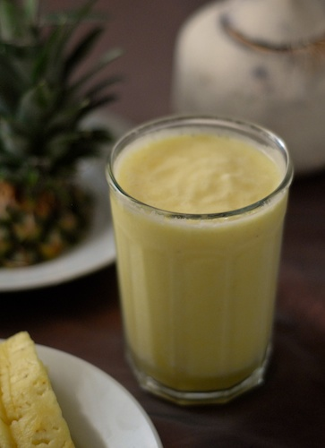Pineapple Young Coconut Smoothie
