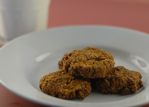 pumpkin chia chocolate chip cookies