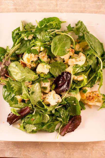 roasted-cauliflower-salad