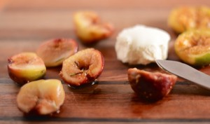 roasted figs with mascarpone cheese