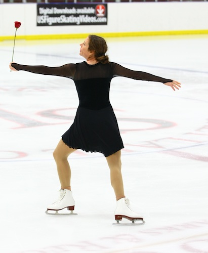 my opposite side Ina Bauer