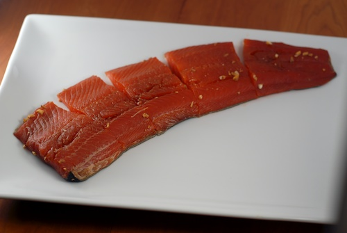 salmon ready to grill
