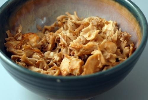 Cauliflower Mushroom (Sparassis crispa) 'Noodles'