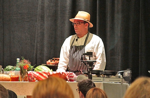 The Chef in the Hat at IFBC