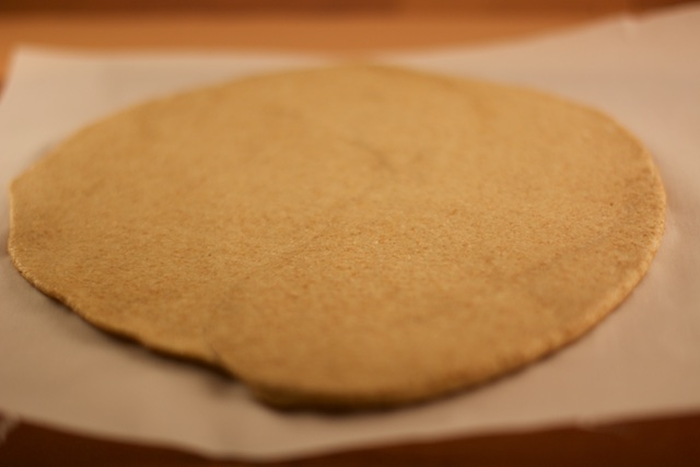 pizza crust with half whole wheat flour and half white whole wheat flour